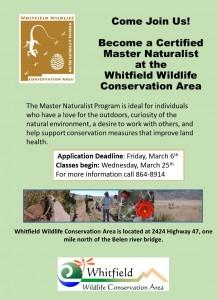2020 Master Naturalist Flyer